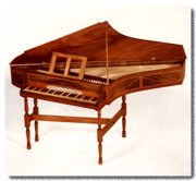 English Bentside Spinet