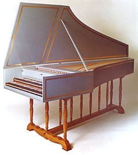 Double-Manual HarpsichordsHandheld Harpsichord