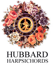 Hubbard Harpsichords Logo Wreath