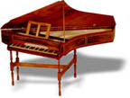 English Bentside Spinet: completed kit