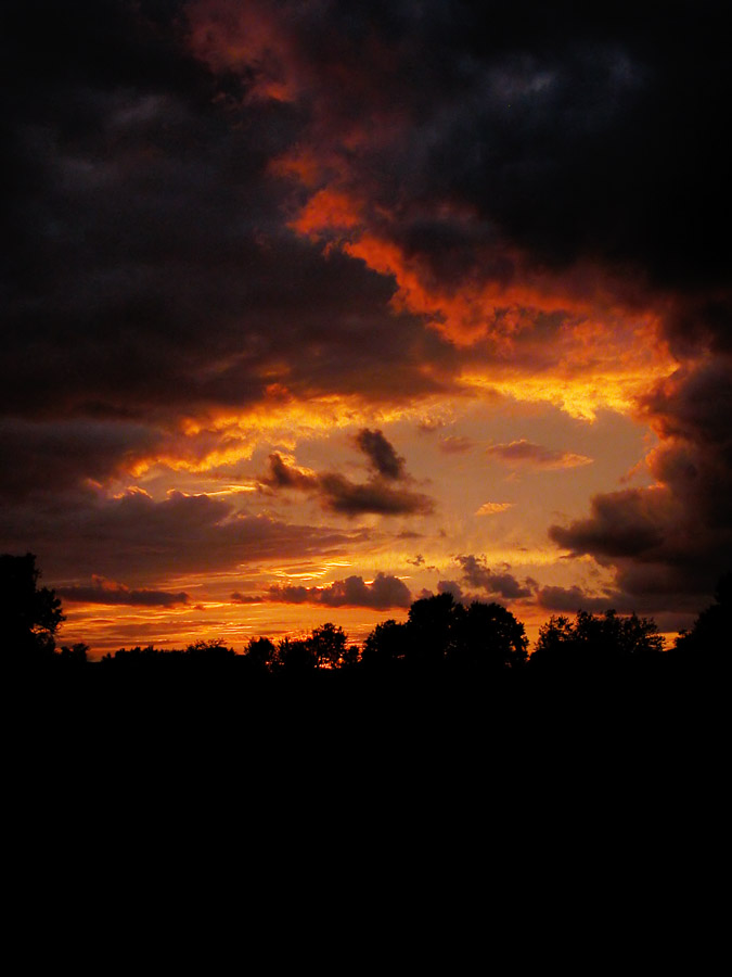 Best weather to predict good sunsets